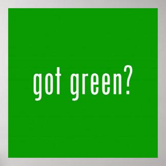 got green? Poster