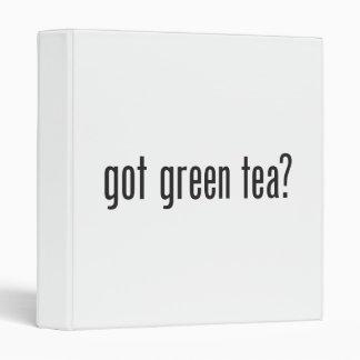 got green tea vinyl binders