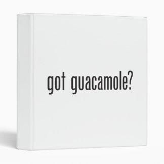 got guacamole vinyl binder