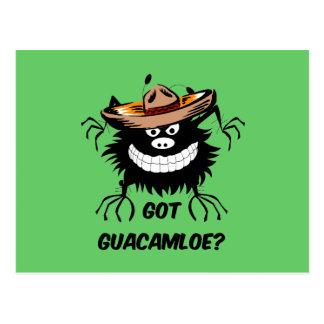 Got guacamole postcard