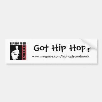 Got Hip Hop? Bumper Sticker