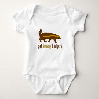 got honey badger? baby bodysuit