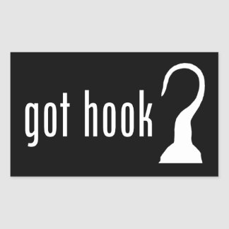 got hook? Stickers