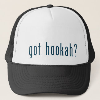 got hookah trucker hat
