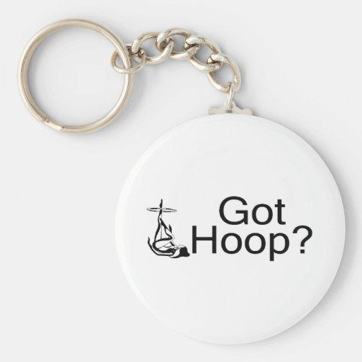 Got Hoop Hula Hoop Girl Keychains