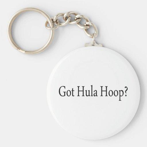 Got Hula Hoop Key Chains