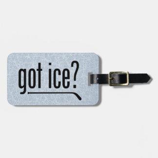 got ice? (hockey) luggage tag