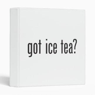 got ice tea 3 ring binder