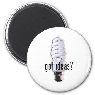 Got Ideas? 2 Inch Round Magnet