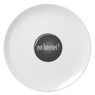 """Got Internet"", Internet, text Got Internet Plate"