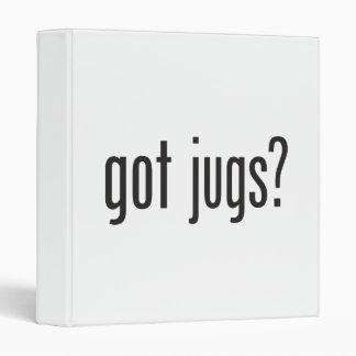 got jugs 3 ring binder