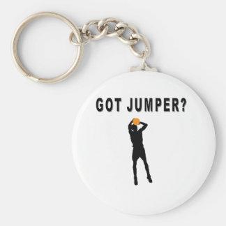 Got Jumper? Basic Round Button Keychain
