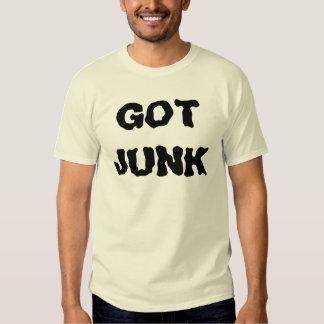 GOT JUNK T-SHIRTS