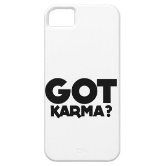 Got Karma, text words iPhone 5 Covers
