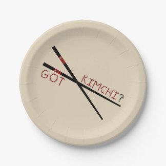 Got Kimchi?  Paper Plates