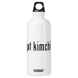 GOT KIMCHI? WATER BOTTLE