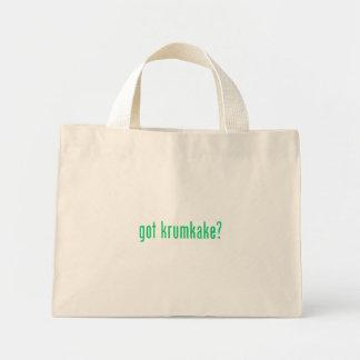 got krumkake? (green) bag