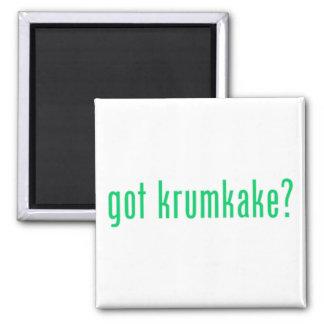got krumkake? (green) magnet