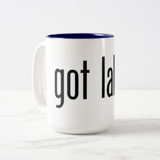 got lake? Two-Tone coffee mug