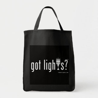 got lights? Grocery Tote