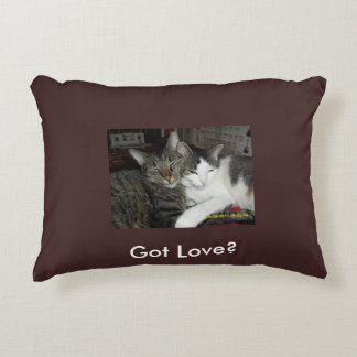 Got love accent pillow