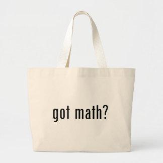got math? jumbo tote bag