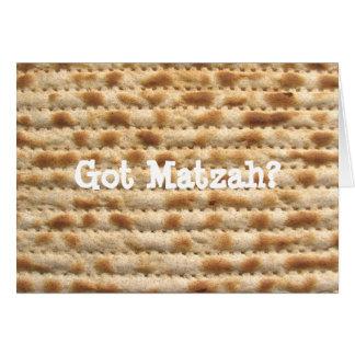 Got Matzah? Passover / Pesach greeting card