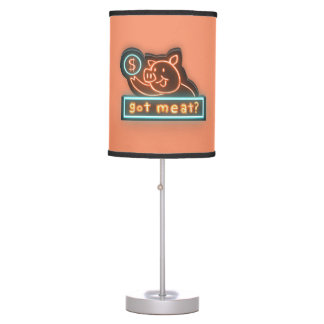 Got meat ? table lamp