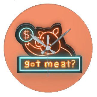Got meat ? wallclock
