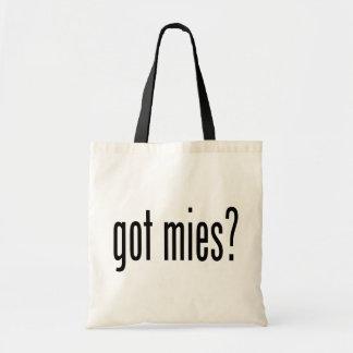 got mies? tote bag
