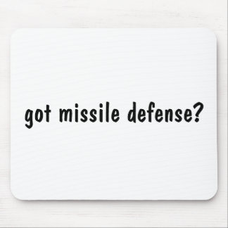 got missile defense? mouse pad