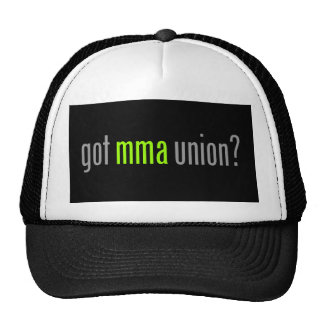 Got MMA Union? for Mixed Martial Arts Fighters, v2 Trucker Hat