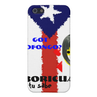 Got Mofongo? Ya tu Sabe iPhone 5 Case
