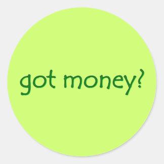 got money? Sticker