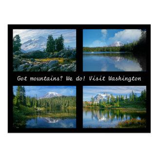 Got mountains? postcard