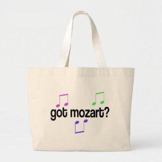 Got Mozart Large Tote Bag