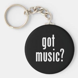Got Music? Basic Round Button Keychain