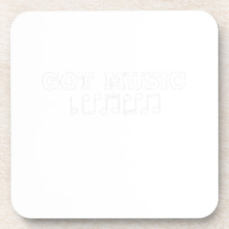 Got Music Funny Gif Coaster