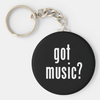 Got Music? Keychain