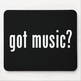 Got Music Mouse Pad