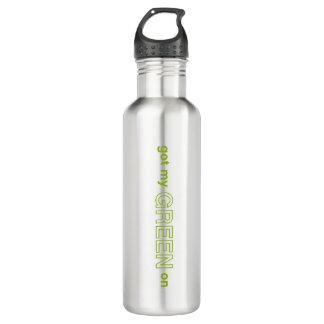 Got My Green On 710 Ml Water Bottle