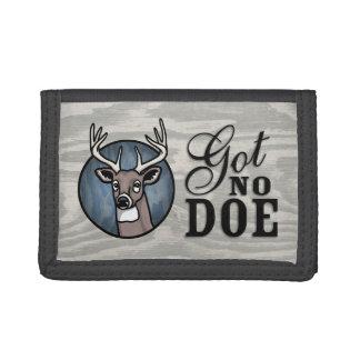 Got No Doe Tri-fold Wallets