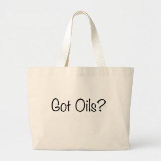Got Oils? shopping bag