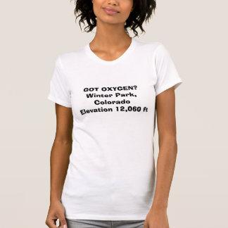 GOT OXYGEN?Winter Park, Colorado Elevation 12,0... T-Shirt