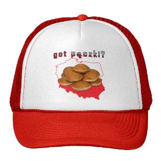 got paczki? Polish Map Trucker Hat