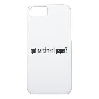 got parchment paper iPhone 7 case