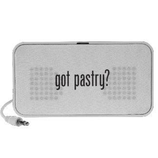 got pastry notebook speakers