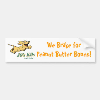 Got Peanut Butter? Bumper Sticker