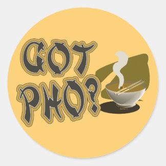 Got Pho 08 Round Sticker