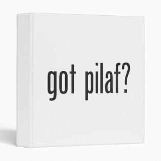 got pilaf 3 ring binders